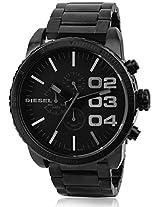 Diesel Black Stainless Steel Men Watch DZ4207