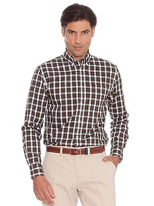 PEDRO DEL HIERRO Camisa Vestir (Verde / Rojo)