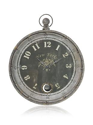 Wall Clock (Black/Grey)