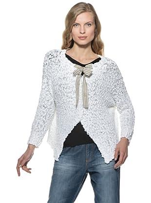 Stefanel Cardigan (Weiß)