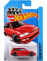 2014 Hot Wheels Hw City 30/250 - 1990 Honda Civic EF by Hot Wheels TOY