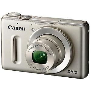 Canon デジタルカメラ PowerShot S100 シルバー PSS100(SL) 1210万画素 広角24mm 光学5倍ズーム 3.0型TFT液晶カラーモニター