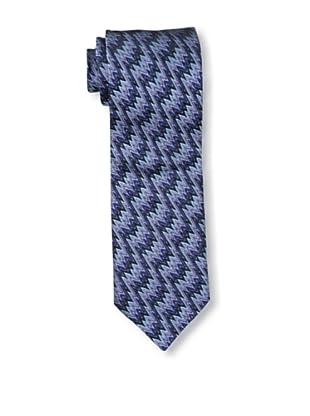 Missoni Men's Lightning Zigzag Tie, Blue