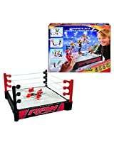 WWE Double Attack Total Control Takedown Playset, Red