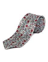Blacksmith Intricate Floral Design Tie