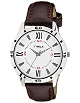 Timex Analog Off-White Dial Men's Watch - TW002E113