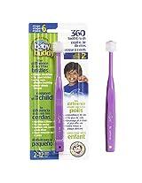Baby Buddy 360 Toothbrush, Purple (Pack of 3)