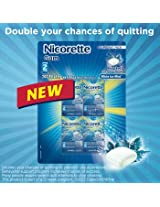 Nicorette 2 mg Gum - White Ice Mint - 25 pieces - 8 packs [Personal Care]