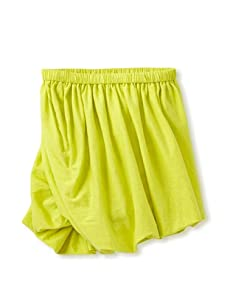 kicokids Girl's Jersey Twisted Bustle Skirt (Citrus)