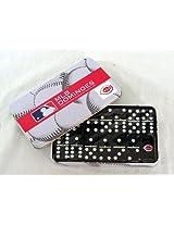 Cincinnati Reds MLB Logo Domino Set in Gift Tin (Dominoes)