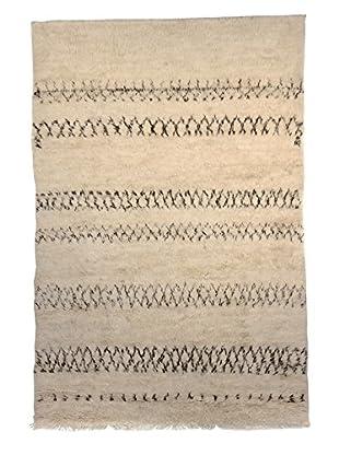 F.J. Kashanian Morrocan Berber Rug, Ivory, 6' 6