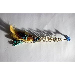 Golden Feather Earring