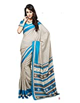 ewows Bhagalpuri Style E7505B Silk Saree