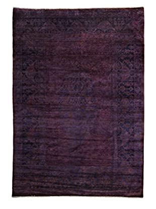 Darya Rugs Transitional Oriental Rug, Purple, 9' 1