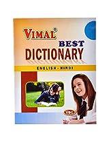 Vimal Best English-Hindi Dictionary.