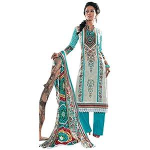 Freshen Light Blue Pakistani Style Suit