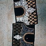 Black Velvet Dress Material