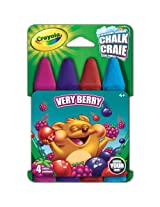 Crayola Build Your Box Very Berry Chalk (4 Count)