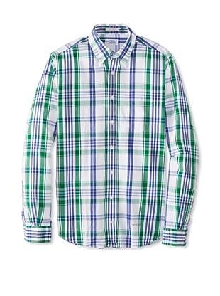 GANT Rugger Men's Dreamy Oxford Button-Up Shirt (shamrock)