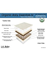 LA Baby Mattress with Breath Safe, Savannah Print