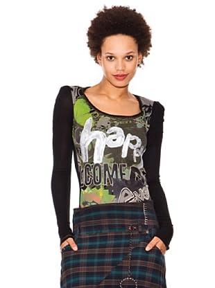 Desigual Camiseta Cipoletti (negro)