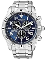 Citizen Eco-Drive Alarm Chronograph Perpetual Mens Watch Bl5470-57L