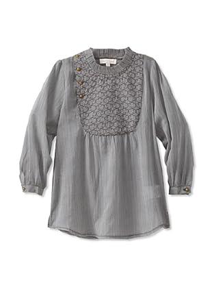 Pale Cloud Girl's Cayleigh Long Sleeve Shirt (Grey)