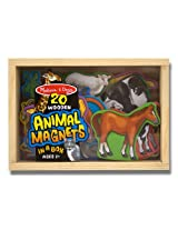 Melissa & Doug 475 Magnetic Wooden Animals