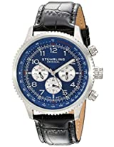 Stuhrling Original Octane Analog Blue Dial Men's Watch - 858L.02