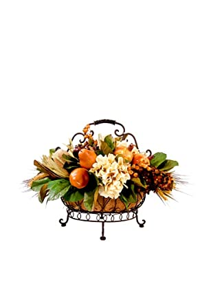 Creative Displays One Tier Fruit & Hydrangea Basket, 16x21x26