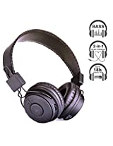 Avantree Hive, Dual Mode Bluetooth Stereo Headphone, Both Wireless AND Wired, Long (18h) music time, good sound quality