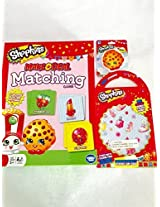 Shopkins Sticker Fun Pack with Matching Game Bundle