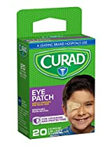 Curad Eye Patch, Non-Woven (Paper), 2 1/4 Inches X 3 1/8,  Inches, 20 Count