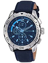 Nautica Sports Analog Blue Dial Men's Watch - NAI19518G