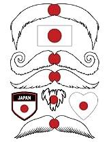 StacheTATS Japan Temporary Mustache Tattoos