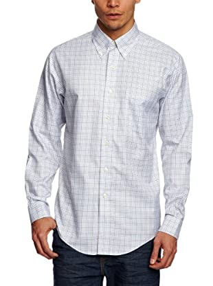 Brooks Brothers Camisa Melvin (Marrón / Blanco)