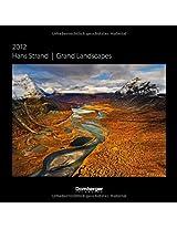 2012 Hans Strand Grand Landscapes Grid Calendar