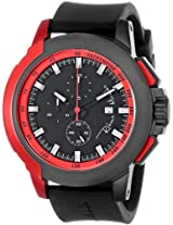 Ritmo Mundo Unisex 1101/4 Red Quantum Sport Quartz Chronograph Aluminum Accents Watch