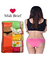 Seasons Hushh Pack Of 5 Women Brief Panties B110B1103NA_Multi