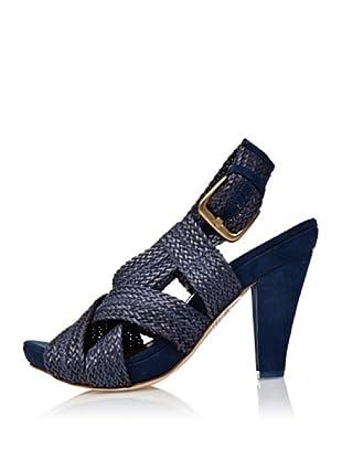 Cortefiel Sandalette Cinturini (Blau/Nachtblau)