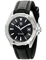 TAG Heuer Men's WAY1110.FT8021 Analog Display Quartz Black Watch