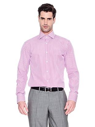 Hugo Boss Camisa Geraldino (Rosa Oscuro)
