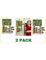 Melissa & Doug Deluxe Magnetic Responsibility Chart (2 PACK)