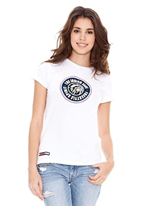 The Indian Face Camiseta Manga Corta (Blanco)