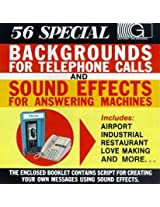 Backgrounds Telephone Calls & Sound Effects Answer