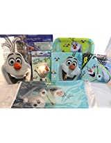 Olaf Party Supplies Bundle Of 7 Items