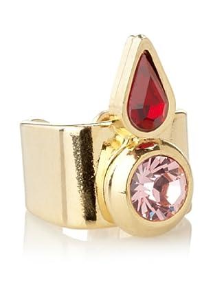 Lionette Designs by Noa Sade Siam & Light Rose Ashley Tribal Ring