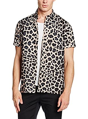 Marc by Marc Jacobs Camisa Casual London Leopard