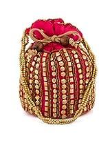 Voylla Priceless Pink Colored Potli Bag