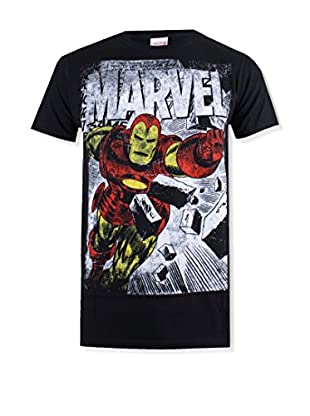 Marvel T-Shirt Manica Corta Iron Man Smash